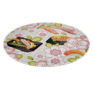Japanese Food: Sushi Pattern 2 Cutting Board
