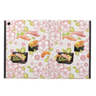 Japanese Food: Sushi Pattern 2 iPad Air Cases
