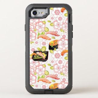 Japanese Food: Sushi Pattern 2 OtterBox Defender iPhone 8/7 Case