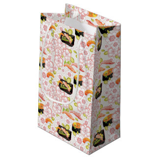 Japanese Food: Sushi Pattern 2 Small Gift Bag