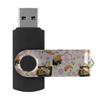Japanese Food: Sushi Pattern 2 USB Flash Drive