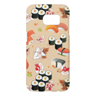 Japanese Food: Sushi Pattern 3