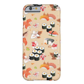 Japanese Food: Sushi Pattern 3 Barely There iPhone 6 Case