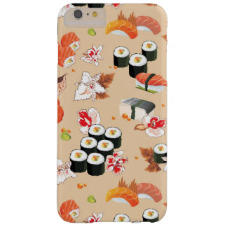 Japanese Food: Sushi Pattern 3 Barely There iPhone 6 Plus Case