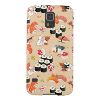 Japanese Food: Sushi Pattern 3 Case For Galaxy S5