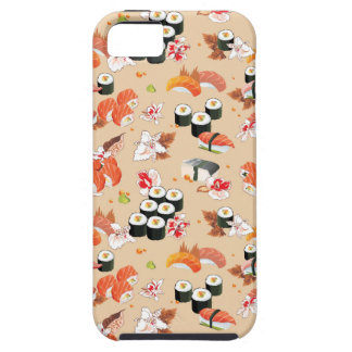 Japanese Food: Sushi Pattern 3 Case For The iPhone 5