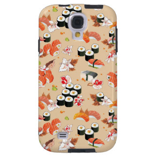 Japanese Food: Sushi Pattern 3 Galaxy S4 Case