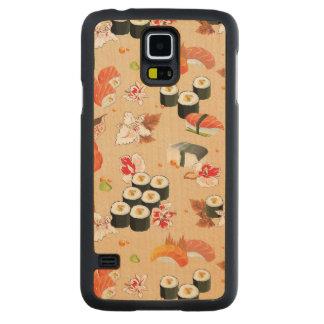 Japanese Food: Sushi Pattern 3 Maple Galaxy S5 Case