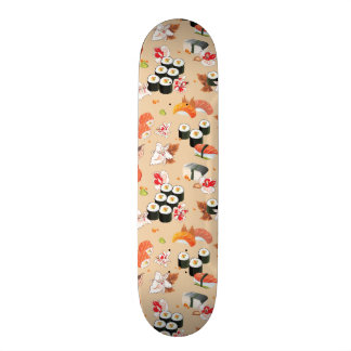 Japanese Food: Sushi Pattern 3 Skate Board Decks