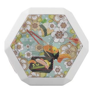 Japanese Food: Sushi Pattern 4 White Boombot Rex Bluetooth Speaker