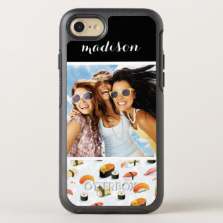 Japanese Food   Sushi Pattern   Add Your Photo OtterBox Symmetry iPhone 8/7 Case