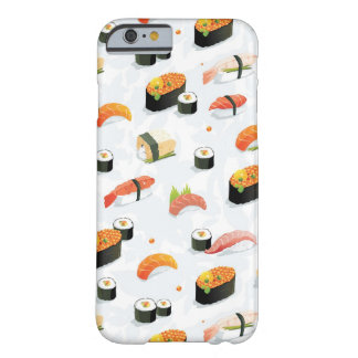 Japanese Food: Sushi Pattern Barely There iPhone 6 Case