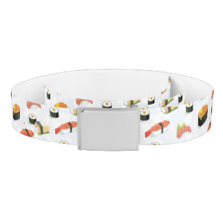 Japanese Food: Sushi Pattern Belt