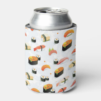 Japanese Food: Sushi Pattern Can Cooler