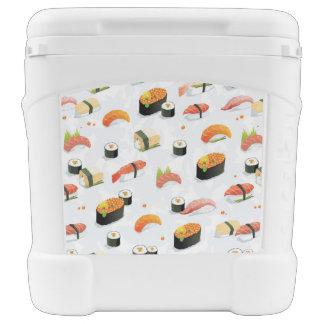 Japanese Food: Sushi Pattern Cooler