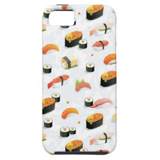 Japanese Food: Sushi Pattern iPhone 5 Cover