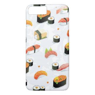 Japanese Food: Sushi Pattern iPhone 8 Plus/7 Plus Case