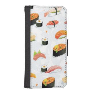 Japanese Food: Sushi Pattern iPhone SE/5/5s Wallet Case