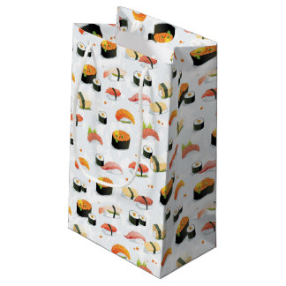 Japanese Food: Sushi Pattern Small Gift Bag