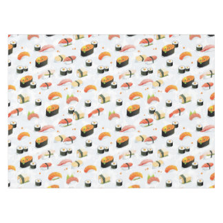 Japanese Food: Sushi Pattern Tablecloth