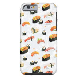 Japanese Food: Sushi Pattern Tough iPhone 6 Case