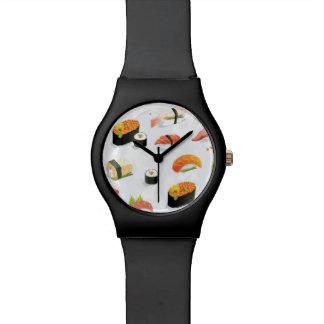 Japanese Food: Sushi Pattern Watch