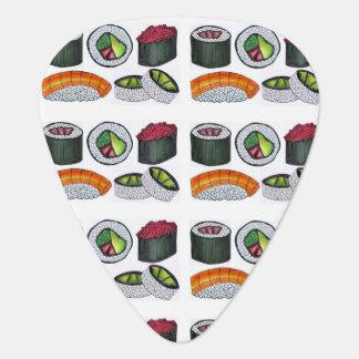 Japanese Food Sushi Roll Tuna Rolls Foodie Gift Guitar Pick