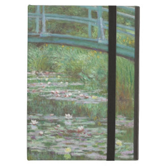 Japanese footbridge Claude Monet iPad Air Cover