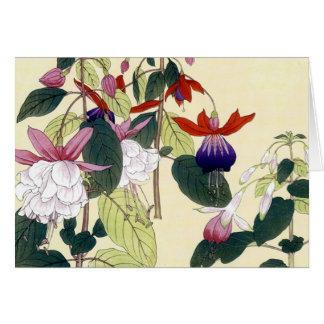 Japanese Fuchsias - Card