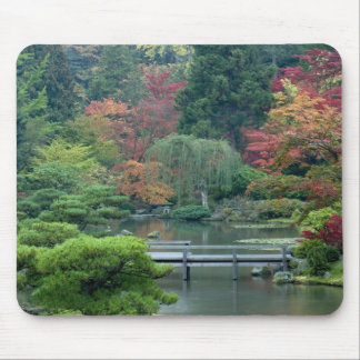 Japanese Garden at the Washington Park Mouse Pad