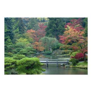 Japanese Garden at the Washington Park Photographic Print