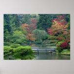 Japanese Garden at the Washington Park Poster