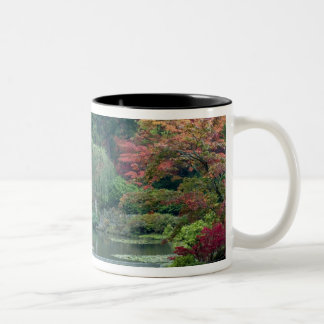 Japanese Garden at the Washington Park Two-Tone Coffee Mug
