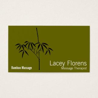 Japanese Garden Bamboo Business Card
