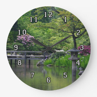 Japanese Garden clock