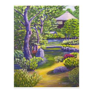 Japanese Garden Full Color Flyer