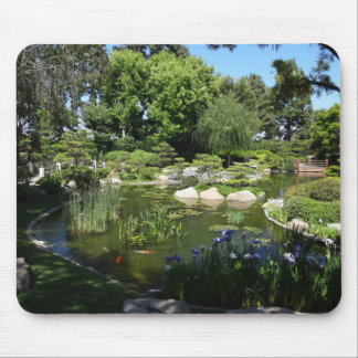 Japanese Garden Koi Pond and Nature Mouse Pad