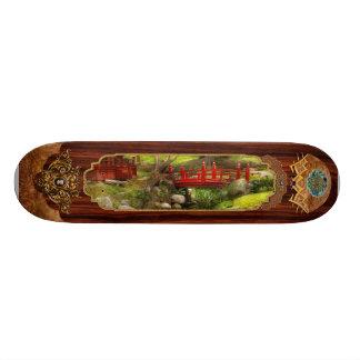 Japanese Garden - Meditation 21.6 Cm Old School Skateboard Deck