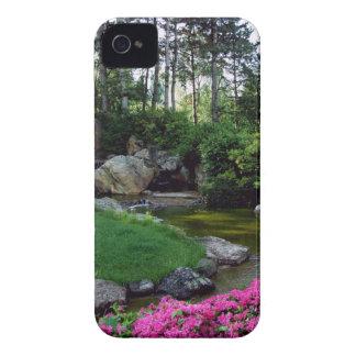 Japanese garden ornamental iPhone 4 cover