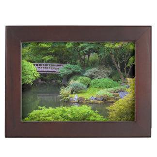 Japanese Garden, Portland, Oregon, USA 2 Keepsake Box