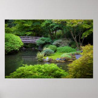 Japanese Garden, Portland, Oregon, USA 2 Poster