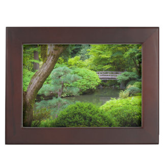 Japanese Garden, Portland, Oregon, USA Keepsake Box