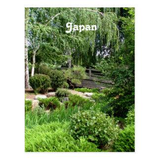 Japanese Garden Post Card
