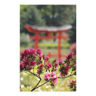 Japanese Garden Stationery Paper