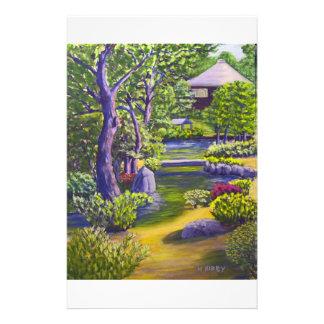 Japanese Garden Stationery