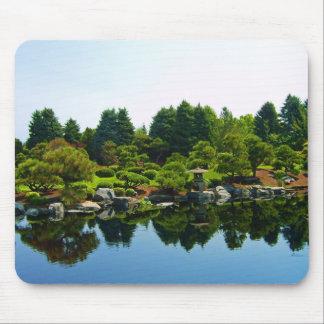 Japanese Gardens at the Denver Botanical Gardens Mousepads
