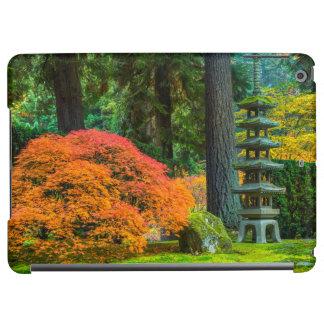 Japanese Gardens In Autumn In Portland, Oregon