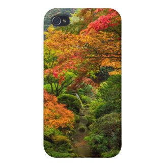 Japanese Gardens In Autumn In Portland, Oregon 2 iPhone 4/4S Cover
