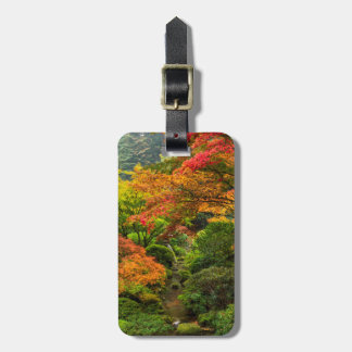 Japanese Gardens In Autumn In Portland, Oregon 2 Luggage Tag