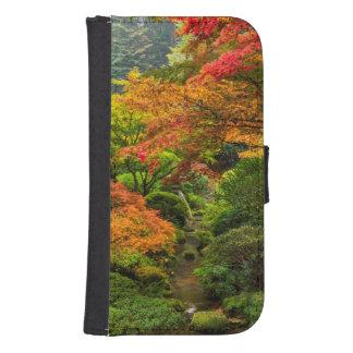 Japanese Gardens In Autumn In Portland, Oregon 2 Samsung S4 Wallet Case